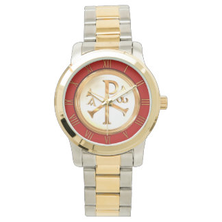Gold Chi-Rho Watch