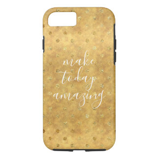 Gold Chic Dots iPhone 8/7 Case