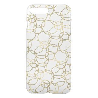 Gold Circles iPhone 8 Plus/7 Plus Case