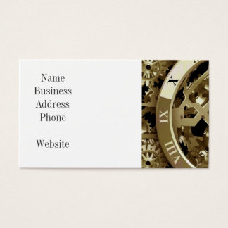Gold Clocks and Gears Steampunk Mechanical Gifts