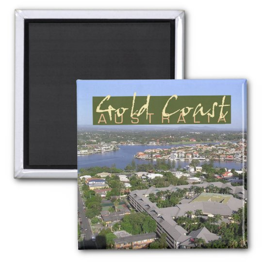 Gold Coast Australia Photo Souvenir Fridge Magnet