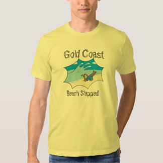 Gold Coast Beach Slapped Surfer Wipeout? T Shirt