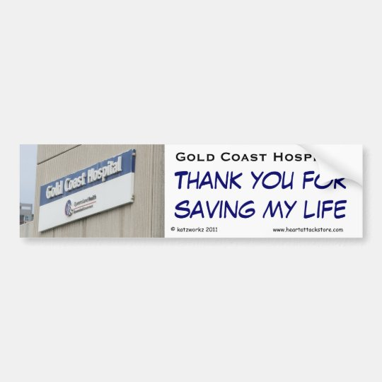 Gold Coast Hospital - Thank you for saving