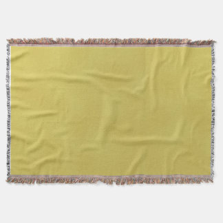 Gold-Colored Throw Blanket
