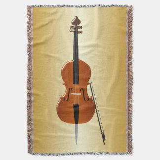 Gold Coloured Cello