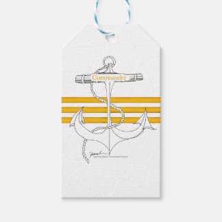 gold commander, tony fernandes gift tags