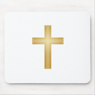 Gold Cross/Easter Mouse Mat