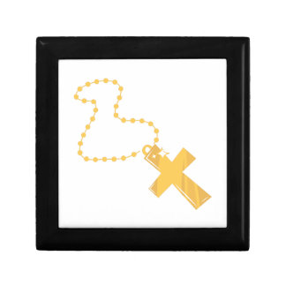 Gold Cross Necklace Jewelry Boxes
