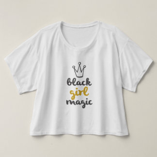 Gold Crown Black Girl Magic T-Shirt