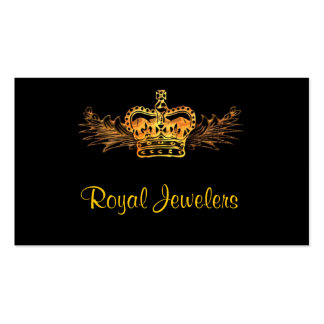Gold Crown Business Card