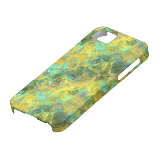 Gold Crumpled Texture iPhone 5 Covers