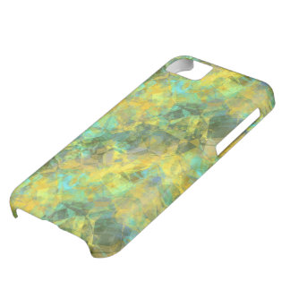 Gold Crumpled Texture iPhone 5C Case