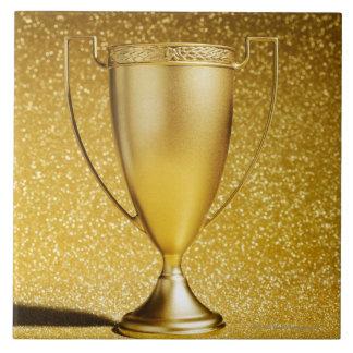 Gold Cup Trophy Tile