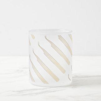 Gold Curved Tweezer Mug