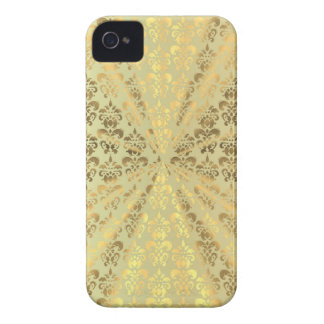 Gold damask Case-Mate iPhone 4 case