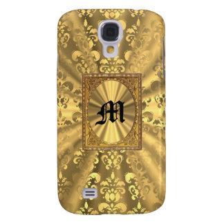Gold damask galaxy s4 case