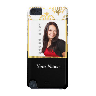 Gold damask instagram photo template iPod touch (5th generation) cover