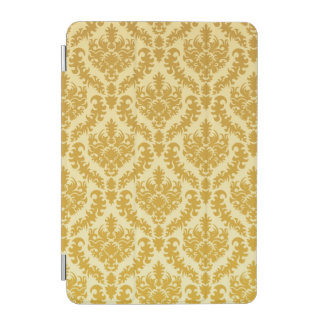 Gold damask iPad mini cover