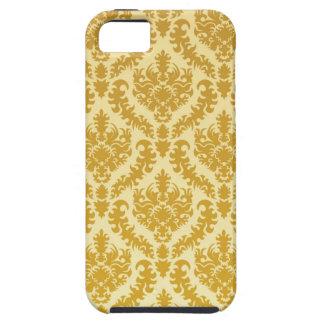 Gold damask iPhone 5 case
