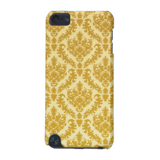 Gold damask iPod touch (5th generation) cases