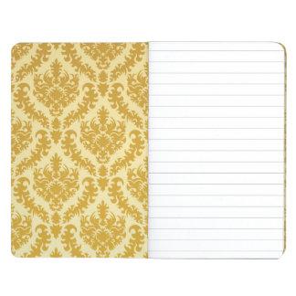 Gold damask journal