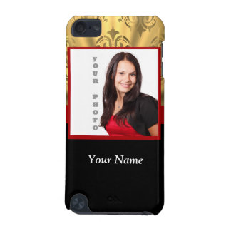 gold damask photo template iPod touch (5th generation) cover