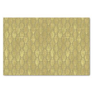 Gold Damask Tissue Paper