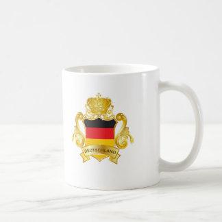 Gold Deutschland Mugs