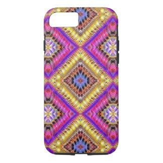 Gold Diagonal iPhone 7 Case