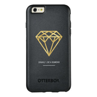 Gold Diamond OtterBox iPhone 6/6s Plus Case