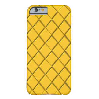 Gold Diamond print Barely There iPhone 6 Case