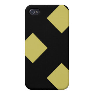 Gold Diamonds in Oil Speck Case iPhone 4 Covers