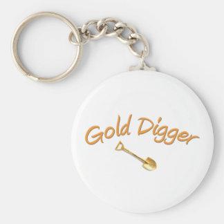 Gold Digger Key Ring