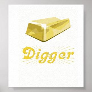 Gold Digger Print