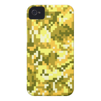 Gold Digital Camouflage Case-Mate iPhone 4 Case