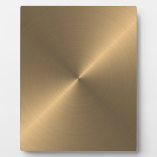 Gold Display Plaques