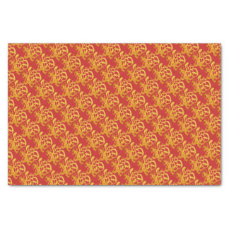 Gold Dog Papercut Chinese New Year 2018 Tissue P Tissue Paper