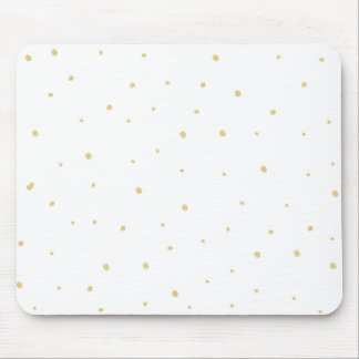 Gold Dots Mousepad