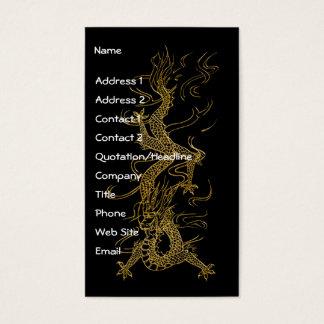 GOLD DRAGON Asian Design