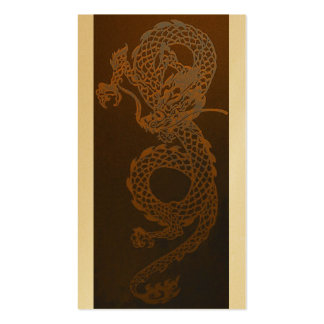 Gold Dragon Business Card