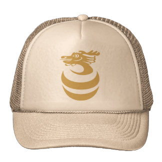 Gold Dragon in Egg Hat