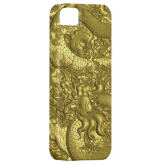 Gold dragon iPhone 5 cover
