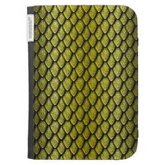 Gold Dragon Scales Kindle 3 Cases