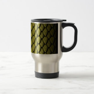 Gold Dragon Scales Mugs
