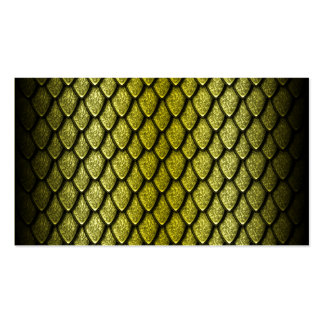 Gold Dragon Scales Pack Of Standard Business Cards
