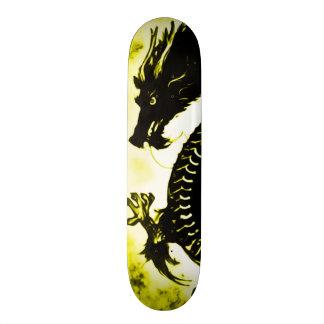 Gold Dragon Suicide Pro Park Board 18.1 Cm Old School Skateboard Deck