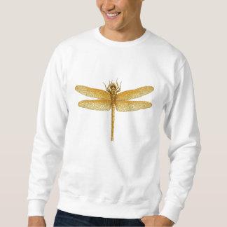Gold Dragonfly Sweatshirt