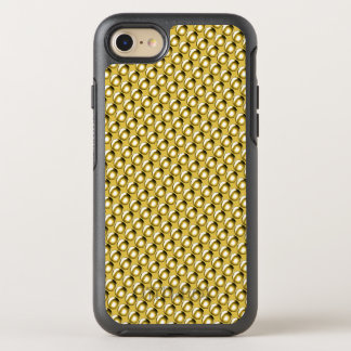 Gold Drop Studs Studded Metal Effect Metallic OtterBox Symmetry iPhone 7 Case