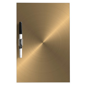 Gold Dry Erase Board