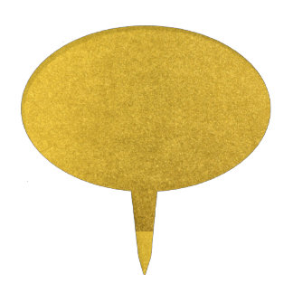 GOLD DUST (a precious metal color) ~ Cake Pick